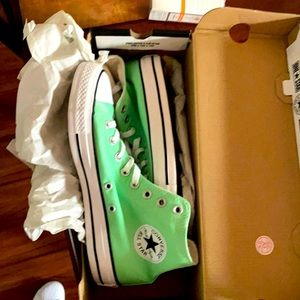 Converse Chuck Taylor All Star Hi Top Light Aphid Green